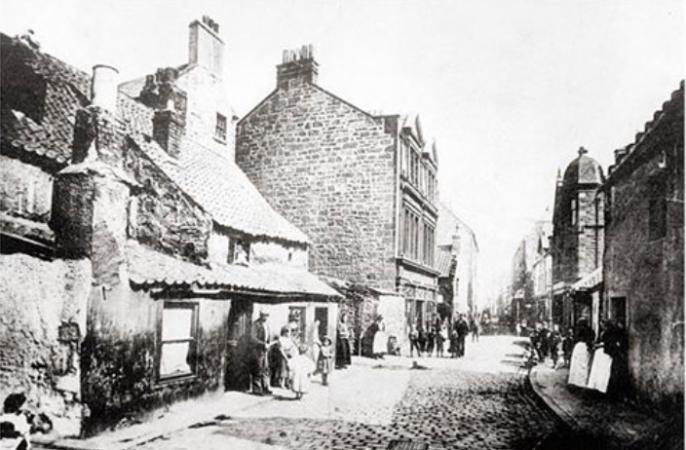South Street Bo'ness c.1880