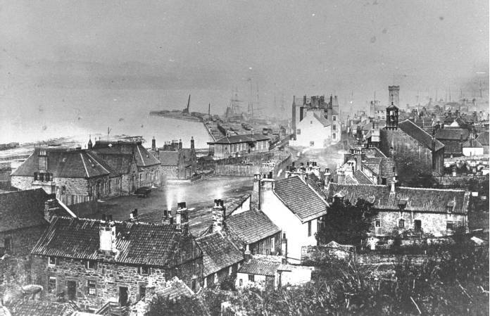 West end of Bo'ness and Docks in late 19th century