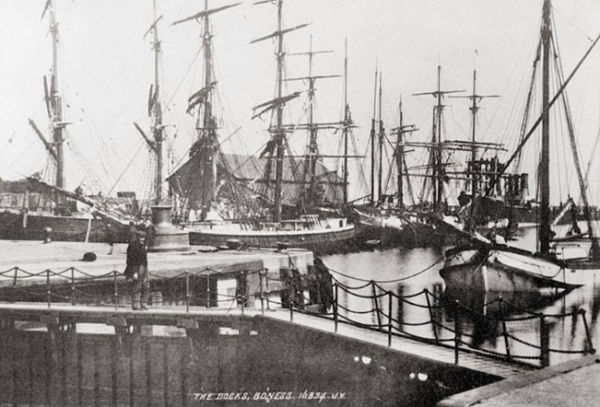 Bo'ness Docks c.1900