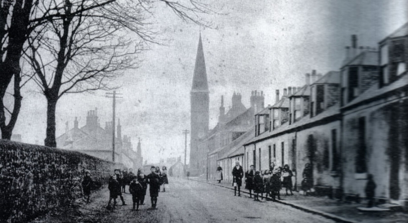 Chryston Parish Church c. 1900 built 1878