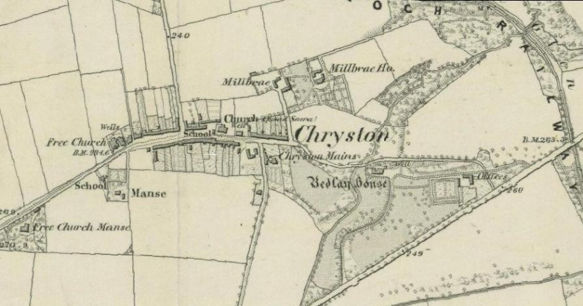 1859 Map of Chryston