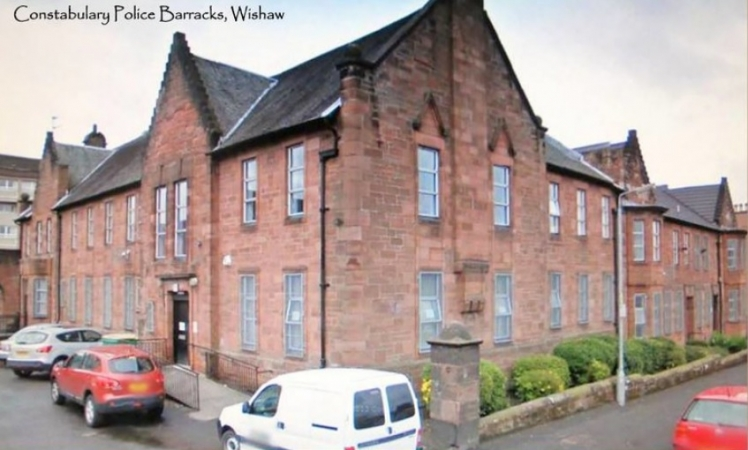 Wishaw Police Barracks in County and Burgh Buildings