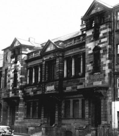 Gorbals United Free Church at 95 South Portland Street