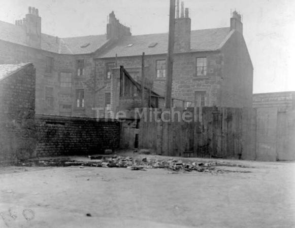 Back Court of 23 Coalhill Street, Camlachie in 1912, some 50 years after Anne Trainer lived there.
