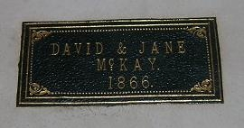 Label inside 'Bunyan's Works'