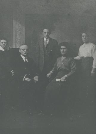 Studio photo of McKay family c1910
