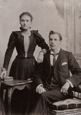 Isabella Brown Baxter and Frederick Macartney