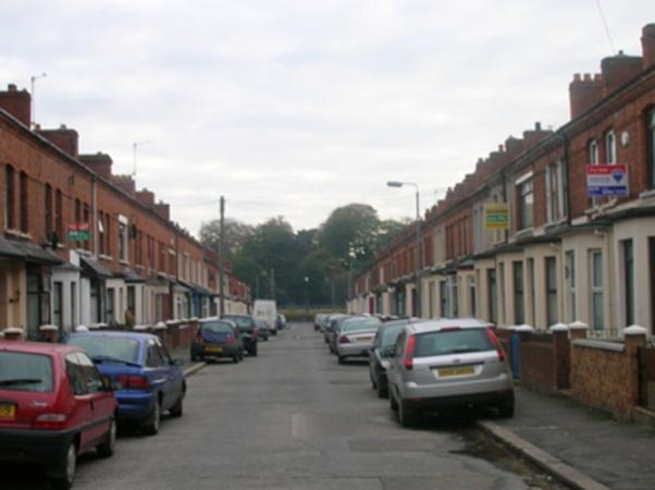 Rutland Street facing towards the Laggan.