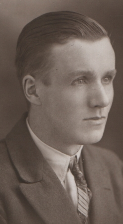 James Macartney possibly early 20s