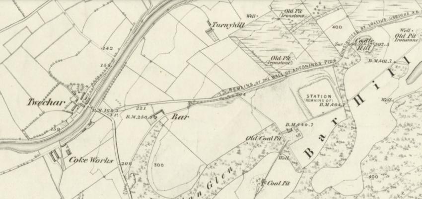 1859 Map of Twechar