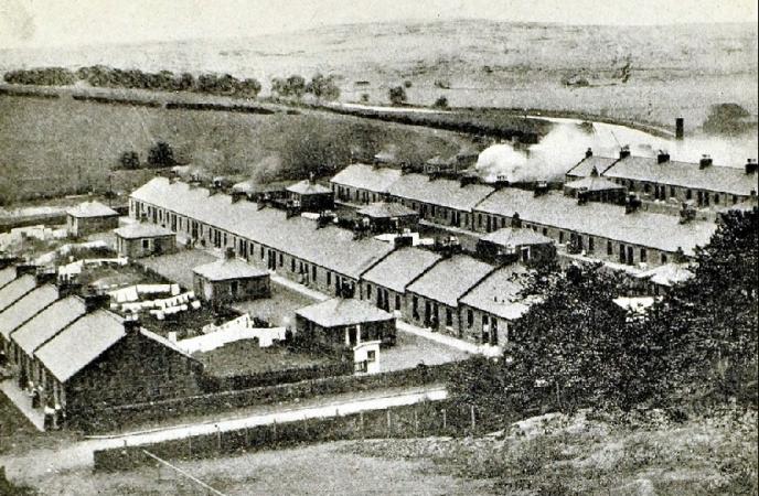 Barrhill Rows, Twechar