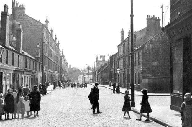 Harriet Street, Pollokshaws c1910