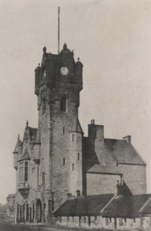 Rutherglen Town Hall on Main Street c.1862