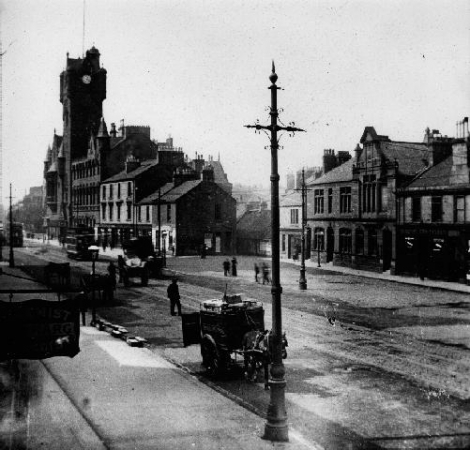 Rutherglen Main Street c.1904