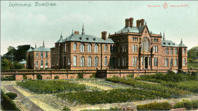 Dumfries Royal Infirmary c1900