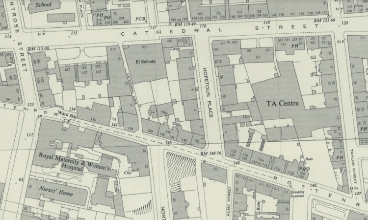 Location of 3 Hopetoun Place, Glasgow