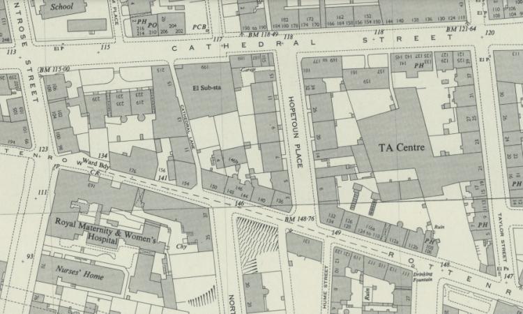 Location of 3 Hopetoun Place, Glasgow