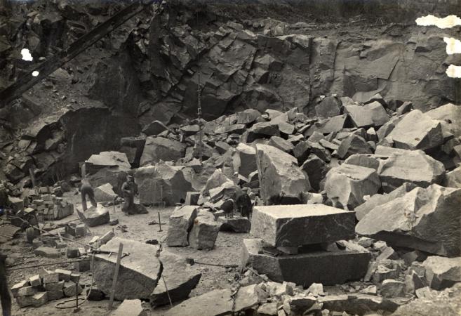 Locharbriggs Quarry in the 20th Century