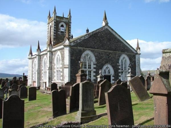 Dunscore Church and Churchyard