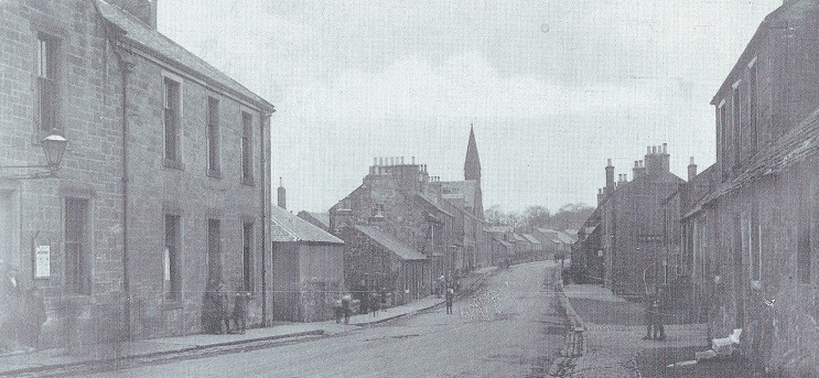 Early 20th Century East Calder facing west.