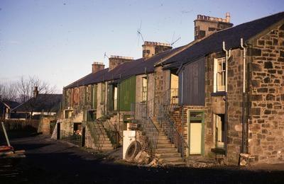 Typical dwellings on Dorrator Road. (1970s)