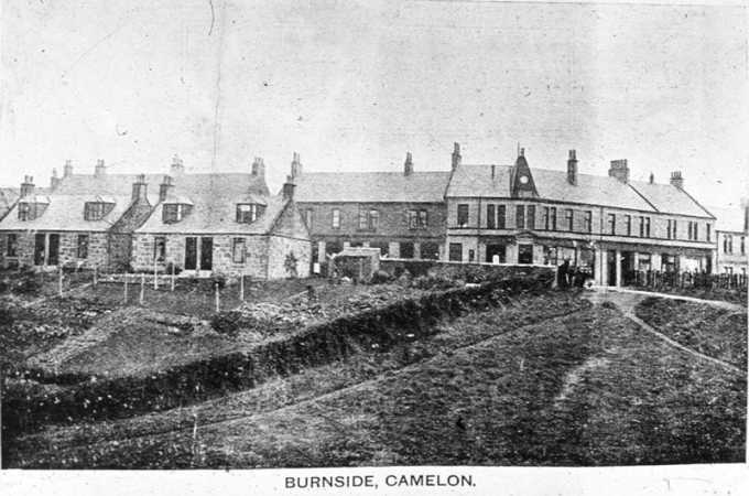 Co-operative Buildings at Burnside Terrace ( early 1900s)