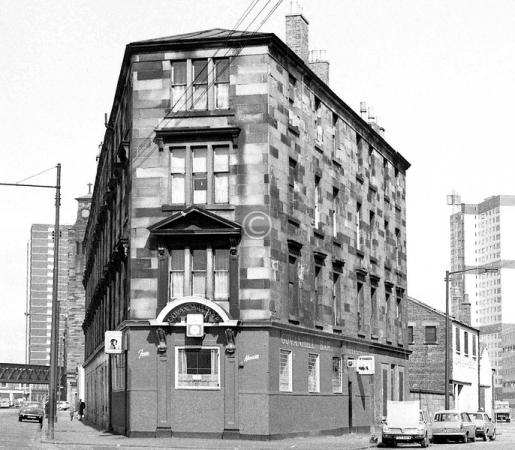 Tenement block incorporating 243 Hospital Street