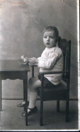Bobby aged about 3 years