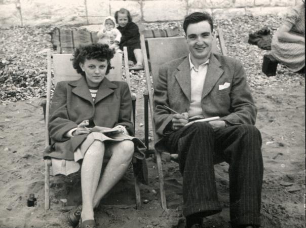 Newlyweds Dorothy & Bobby in Paignton, Devon