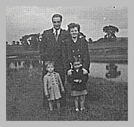 The Abercrombie Family, August 1953 - location unknown.