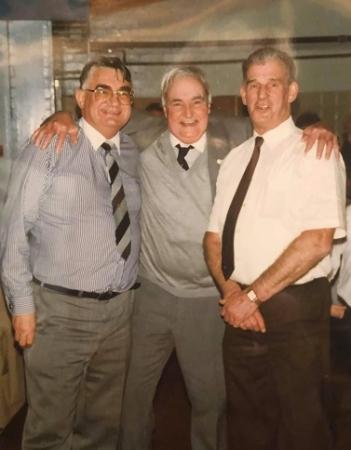 Sandy, Bobby and Jim Abercrombie (c.1992)